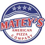 Matey's American Pizza Company Logo