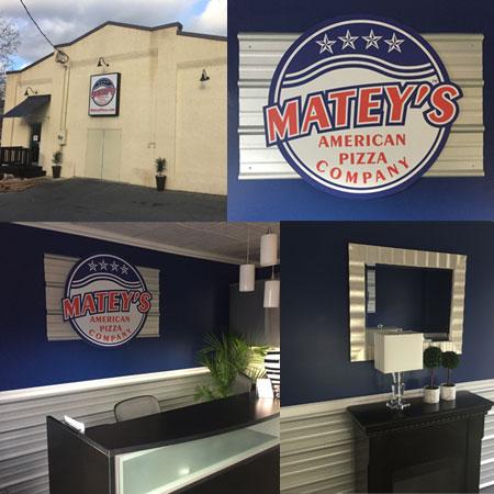 mateys pizza fundraiser office